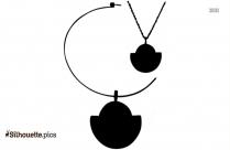 Necklace Clip Art Silhouette