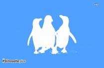Penguin Bird Silhouette