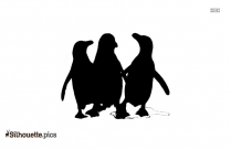 Penguin Drawing Silhouette