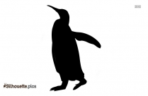 Chinstrap Penguin Clipart Image Silhouette