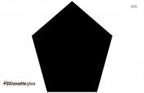 Icosahedron Golden Rectangle Silhouette