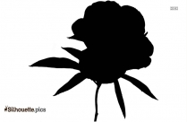 Leaf And Flower Tribal Art Silhouette