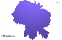 Scotland National Flower Thistle Silhouette Vector