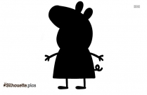 Peppa Pig Silhouette