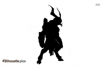 Black And White God Is Love Silhouette
