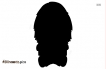 Kid Reading Book Silhouette