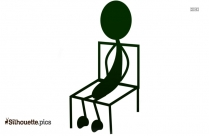 Justin Bieber Sitting Silhouette