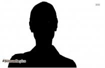 Spanish Girl Clip Art Silhouette Image