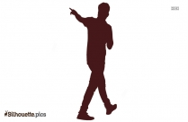 Person Walking Silhouette Free Vector Art