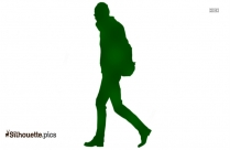 Person Walking Silhouette Png
