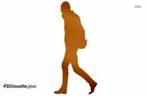Girl Walking Clipart