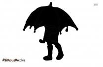 Umbrella Silhouette Vector Art And Graphics