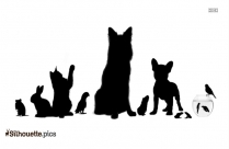 Cartoon Cow Silhouette Picture