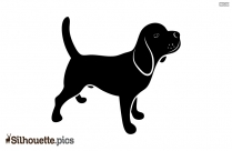 Pet Dog Silhouette