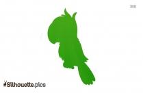 Pet Parrot Silhouette