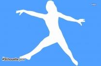 Photo Of Woman Dancing Silhouette