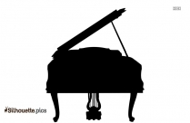 Black Trumpet Silhouette Image