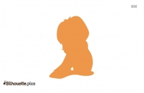 Girl Sitting Silhouette Picture