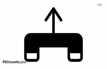 Cartoon Directional Arrows Silhouette