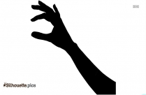 Picking Hand Silhouette