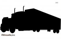 Pickup Truck Icon Silhouette