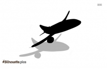 Picture Of Airplane Taking Off Silhouette
