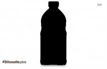 Juice Bottle PNG Silhouette