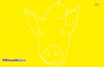 Picture Of Pig Silhouette
