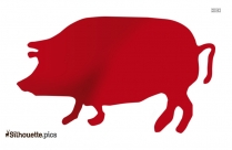 Wild Boar Silhouette Vector And Graphics