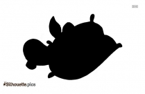 Pooh Swimming Clipart | Cartoon Tigger Winnie The Pooh Silhouette