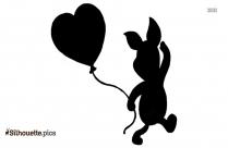 Cartoon Kung Fu Panda Silhouette Clip Art