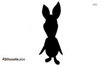 Piglet Cartoon Silhouette
