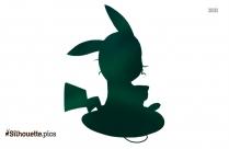 Hefty Smurf Silhouette Clipart