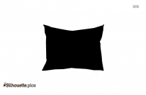 Pillow Silhouette Drawing