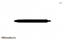 Pilot Pen Silhouette Picture, Vector