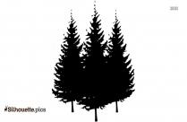 Pine Tree Background Silhouette