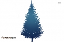 Christmas Tree Silhouette Free Vector Art