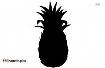 Pineapple Clip Art Silhouette