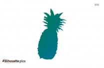 Pineapple Silhouette Transparent
