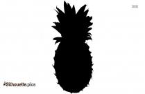 Free Pineapple Tree Silhouette