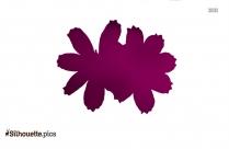 Petal Clipart Poppy Petal Silhouette
