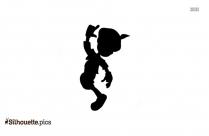 Sad Man Cartoon Silhouette Vector And Graphics