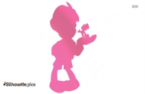 Pinocchio Cartoon Silhouette Icon
