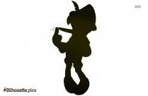 Disney Princess Silhouette Vector Art