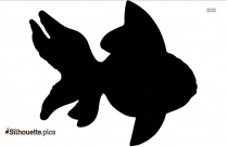 Cartoon Anchovy Fish Silhouette