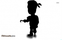 Pirate Girl Silhouette