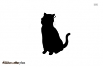 Pirate Cat Silhouette Image