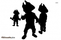 Pirate Sword Silhouette Drawing