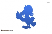Macaw Clipart Colourful Bird Silhouette