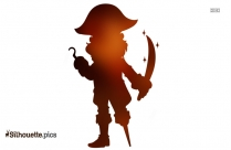 Pirate Parrot Clipart Silhouette